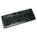 Клавиатура Genius Comfy KB-220 - Black, PS/2, (420118/423122)